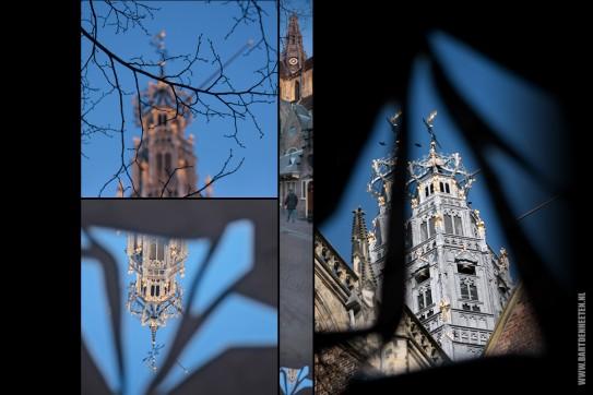 Project 'Scherven door Haarlem' - fotografie via spiegels
