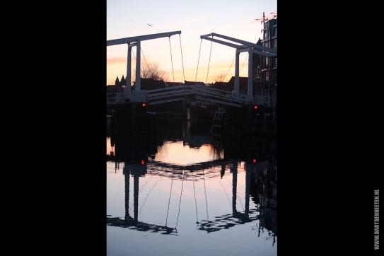 Zonsopgang Haarlem