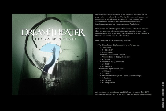 Concept-art voor CD hoesje Dream Theater
