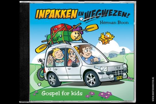 CD-hoesje Inpakken en wegwezen - Herman Boon