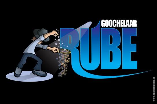 Logo Rube - meervoudig Nederlands kampioen goochelen