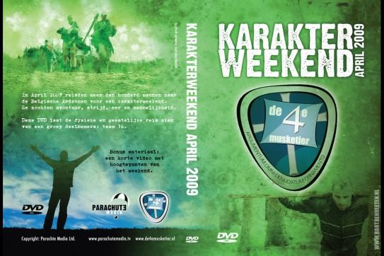 DVD omslag Karakterweekend - Vierde Musketier