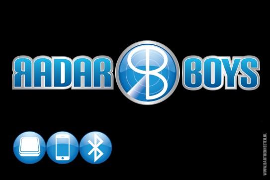 Logo + pictogrammen Radar Boys - ACE